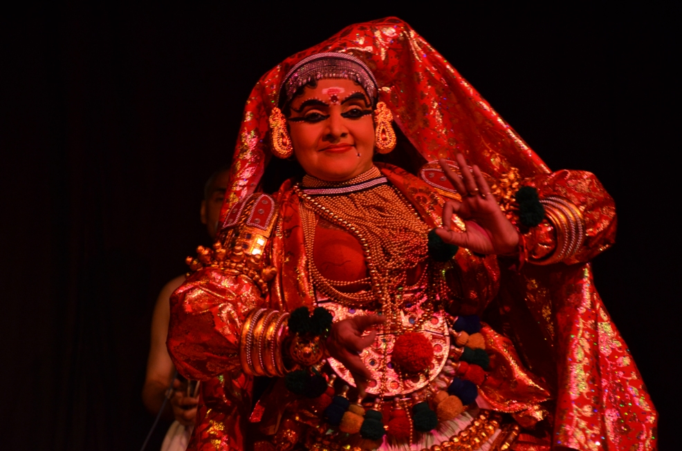 Jayasree M Das, Kathakali, ninad concert series, world dance day