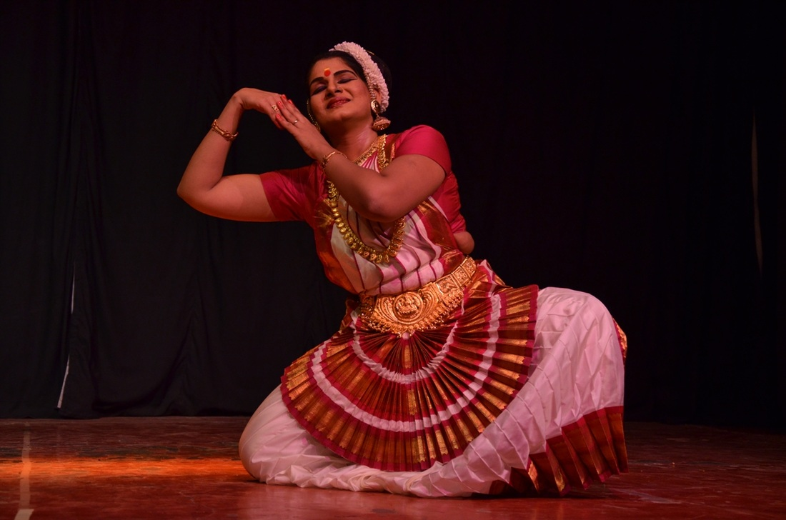 swapna rajendra kumar raju, mohini attam, ninad concert series, world dance day